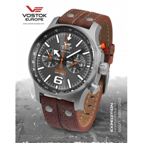 Vostok - Europe EXPEDITION titanium line 6S21/5957242