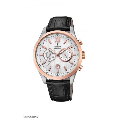 Pánske hodinky Festina 16997/1 Timeless Chronograph