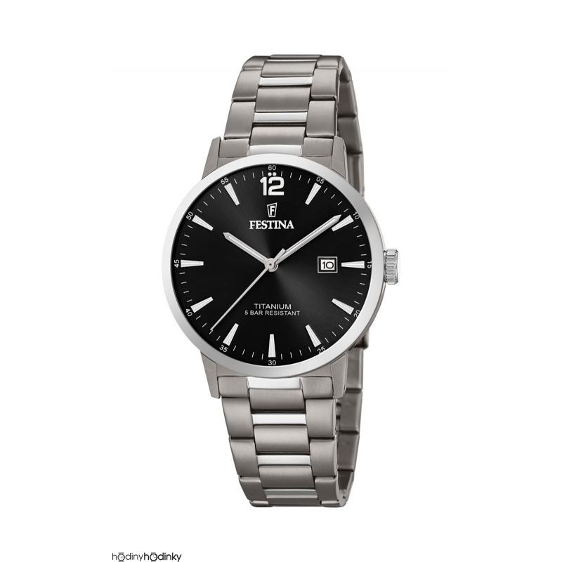 Pánske titániové hodinky Festina 20435/3