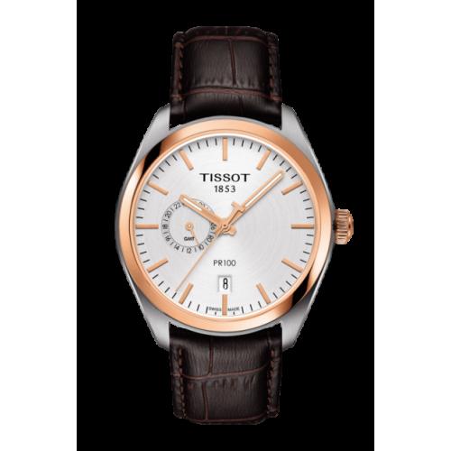 Pánske hodinky Tissot T101.452.26.031.00 PR100 DUAL TIME