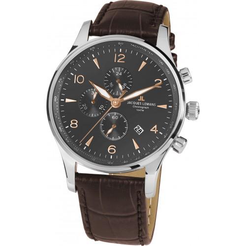 Pánske hodinky  Jacques Lemans 1-1844ZK Chronograph