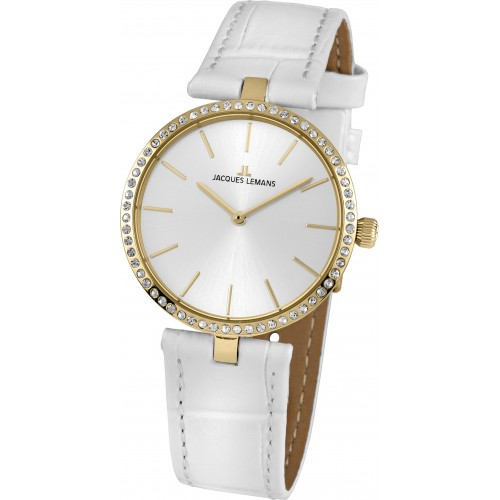 Dámske hodinky Jacques Lemans 1-2024K Swarovski®