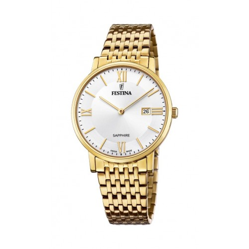 Pánske hodinky Festina 20020/1 Classic SWISS MADE