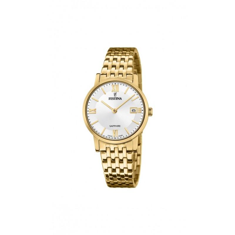 Dámske hodinky Festina 20021/1 Classic SWISS MADE