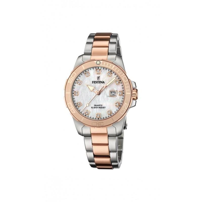 Dámske hodinky Festina 20505/1 BOYFRIEND Bicolor
