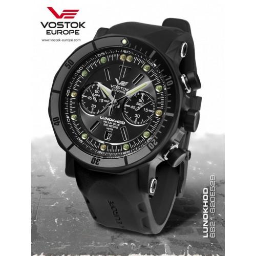Pánske hodinky Vostok-Europe LUNOCHOD-2 chrono line 6S21/620E529