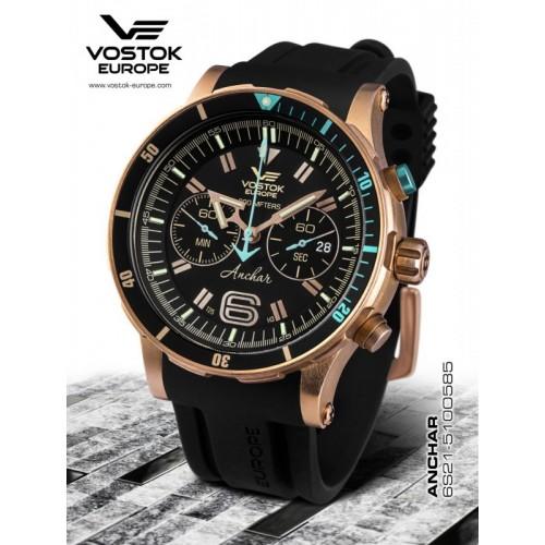 Pánske hodinky Vostok-Europe ANCHAR Submarine chrono line 6S21/510O585