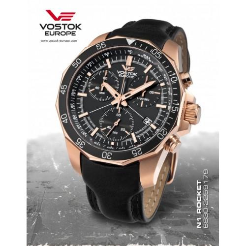 Pánske hodinky Vostok-Europe N-1 ROCKET chrono line 6S30/2259179