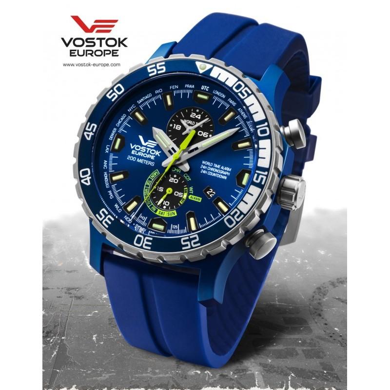Pánske hodinky Vostok-Europe YM8J/597E546 EXPEDITION EVEREST UNDERGROUND