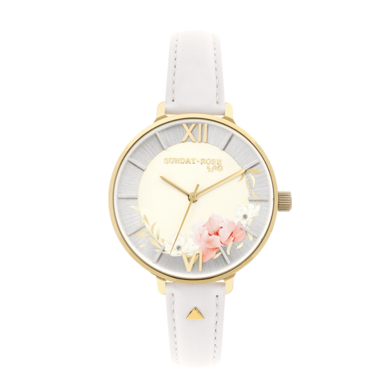 Dámske hodinky SUNDAY ROSE Spirit TEA ROSE LEATHER SUN-S15
