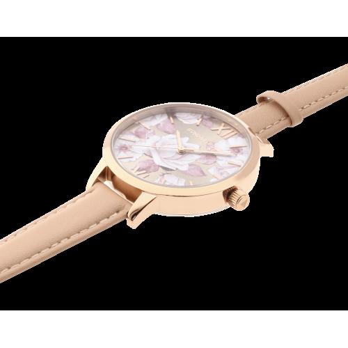 Dámske hodinky SUNDAY ROSE Spirit PEACH SUN-S06