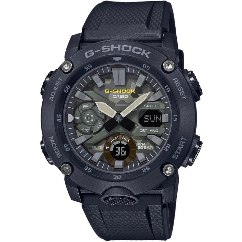 Hodinky Casio G-Shock Carbon GA-2000SU-1AER