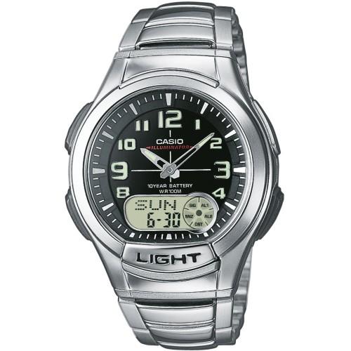 Pánske hodinky Casio AQ-180WD-1BVES Telememo