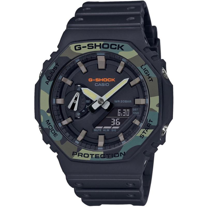 Pánske hodinky Casio G-Shock GA-2100SU-1AER Carbon