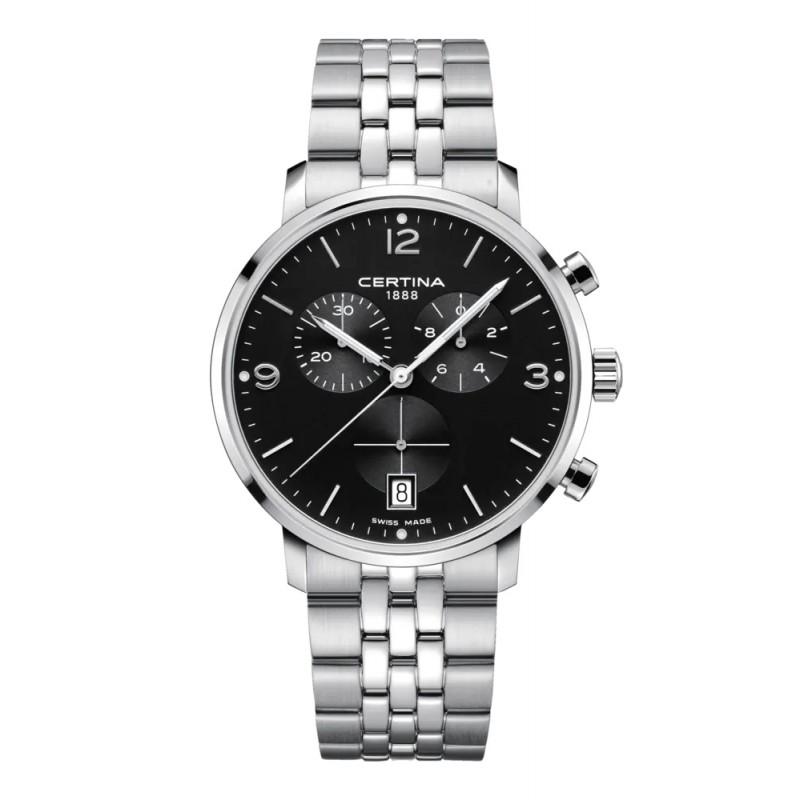 Pánske hodinky C035.417.11.057.00 Certina Caimano Chronograph Quartz