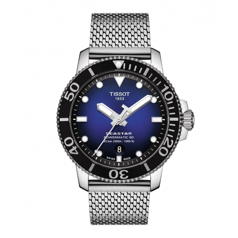 Pánske hodinky TISSOT SEASTAR 1000 POWERMATIC 80 T120.407.11.041.02