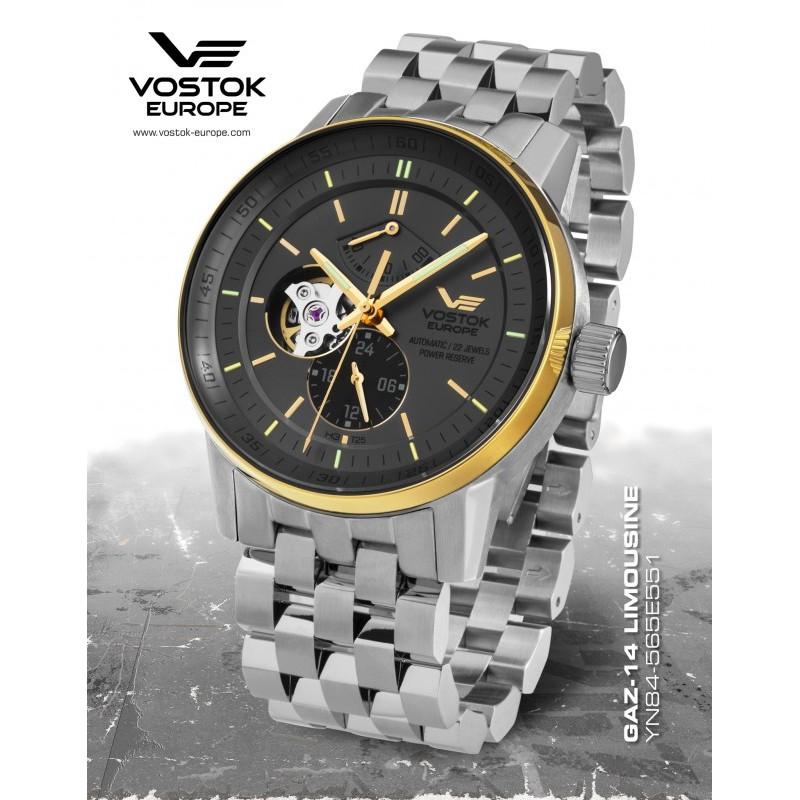 pánske hodinky Vostok - Europe GAZ-14 Limouzine balance YN84/565E551B