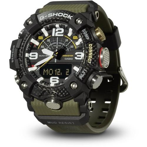 Pánske hodinky Casio G-Shock Bluetooth® Smart GG-B100-1A3ER Quad Sensor