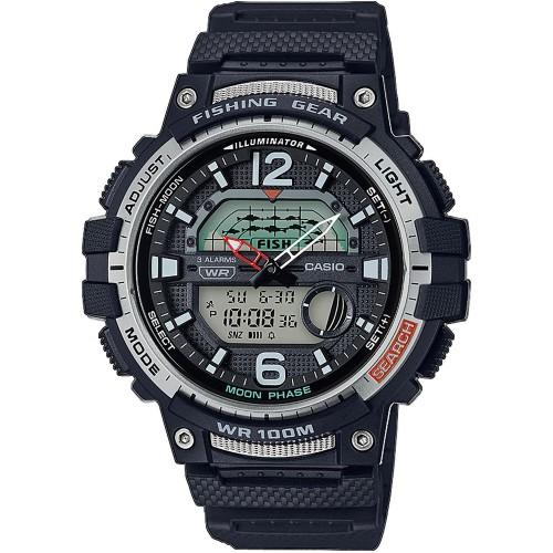 Pánske hodinky Casio WSC-1250H-1AVEF Fishing Gear