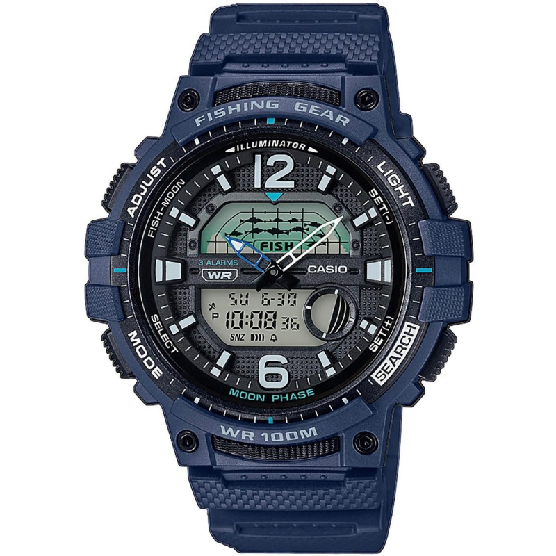 Pánske hodinky Casio WSC-1250H-2AVEF Fishing Gear