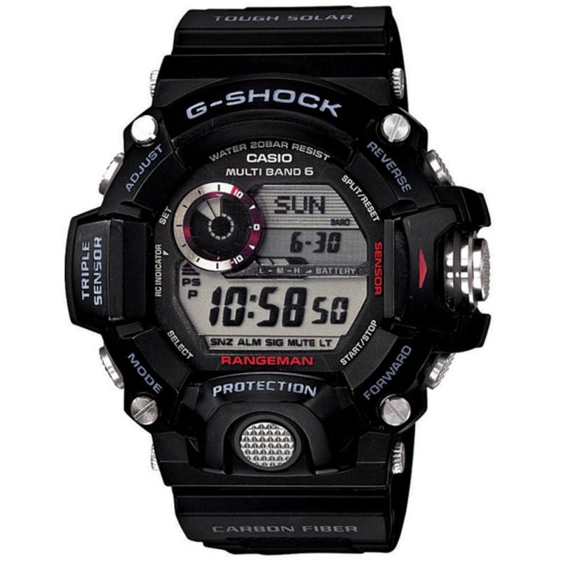 Casio G-Shock GW-9400-1ER MUDMASTER TRIPPLE SENSOR