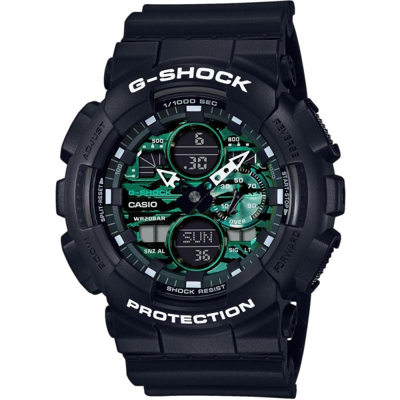 Pánske hodinky Casio G-Shock GA-140MG-1A1ER