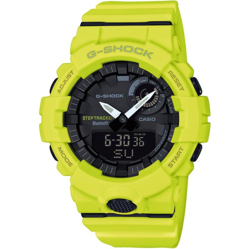 Pánske hodinky s krokomerom Casio G-Shock Bluetooth® Step Tracker GBA-800-9AER