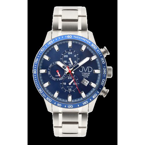 Pánske hodinky JVD JE2003.2 Titanium Sapphire