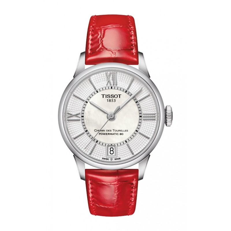 TISSOT CHEMIN DES TOURELLES POWERMATIC 80 LADY T099.207.16.118.00