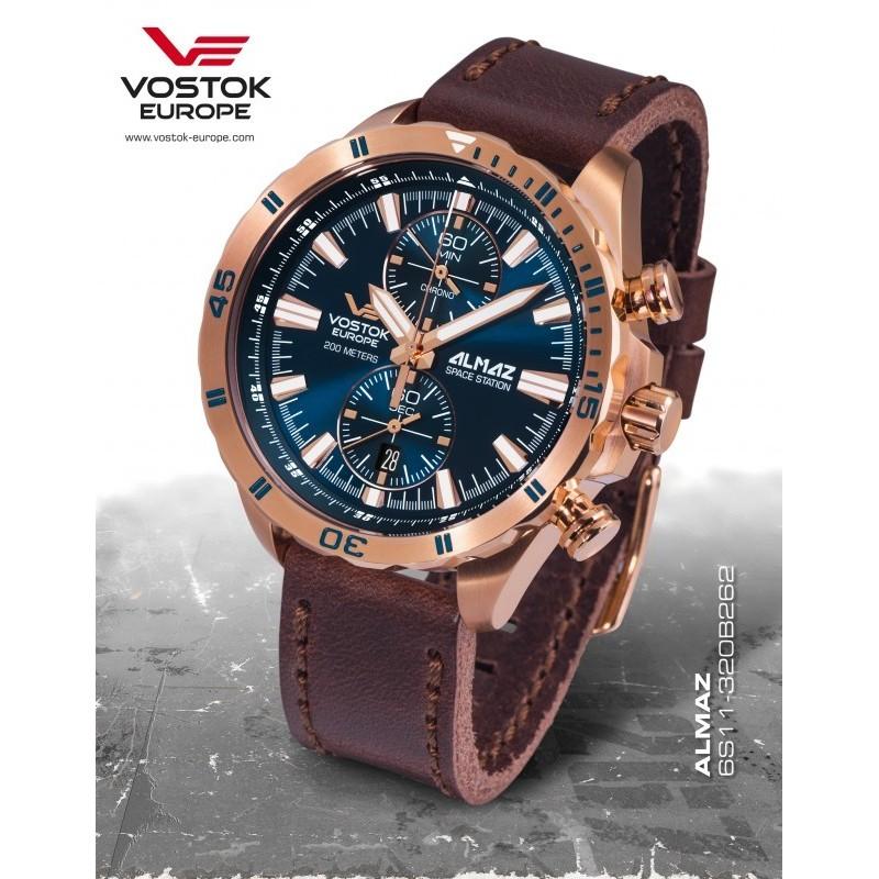 Vostok-Europe ALMAZ chrono line 6S11/320B262
