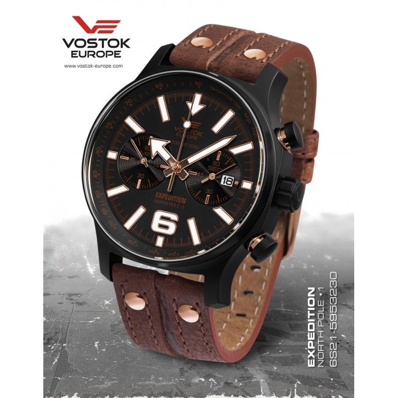 Vostok-Europe EXPEDITION chrono line 6S21/5953230