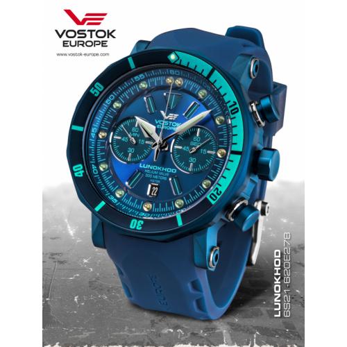Vostok-Europe LUNOCHOD-2 chrono line 6S21/620E278