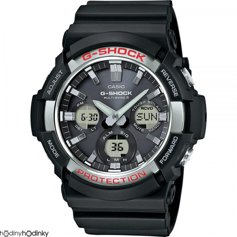 Pánske náramkové hodinky Casio G-Shock Solar Radio control GAW-100-1AER