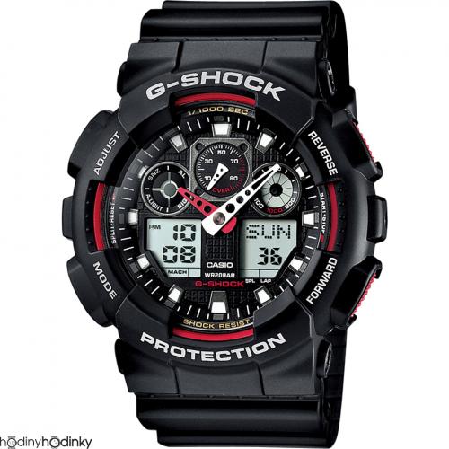 Hodinky Casio G-Shock GA-100-1A4ER