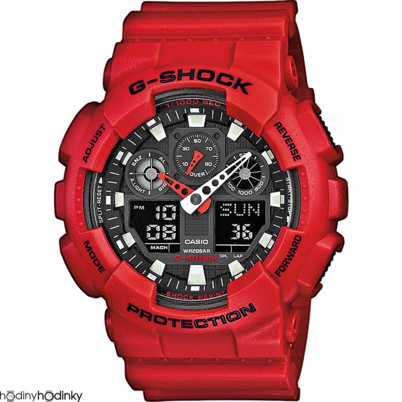 Hodinky Casio G-Shock GA-100B-4AER