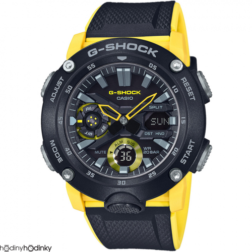 Hodinky Casio G-Shock Carbon GA-2000-1A9ER