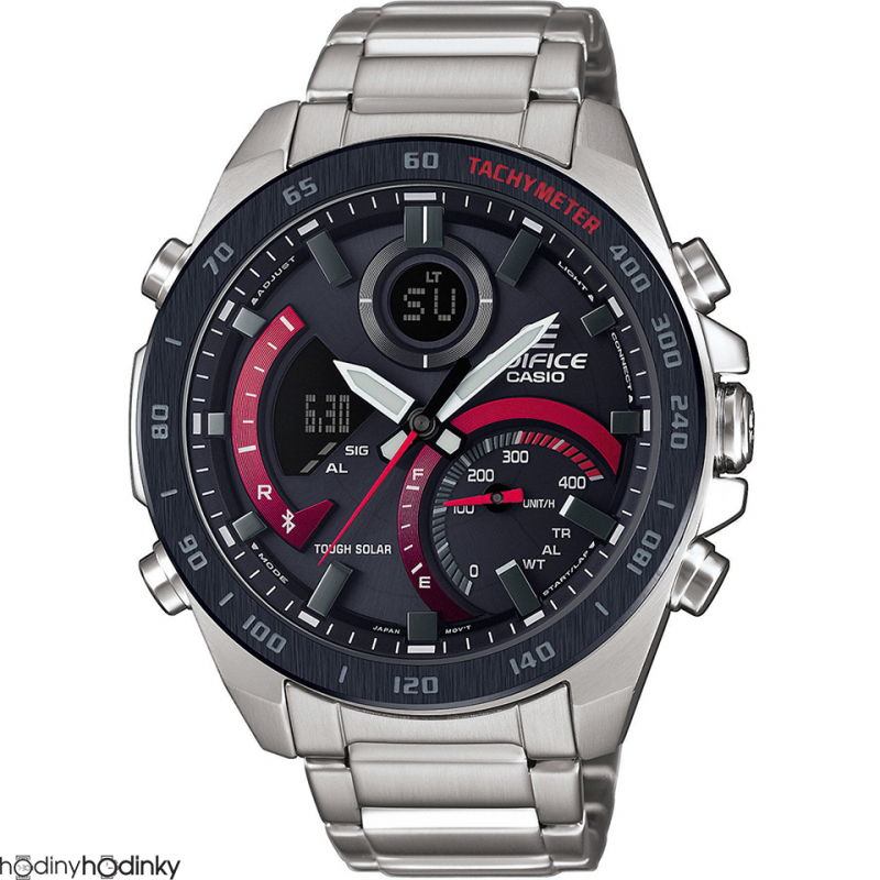 Pánske hodinky Casio Edifice Bluetooth® Solar ECB-900DB-1AER