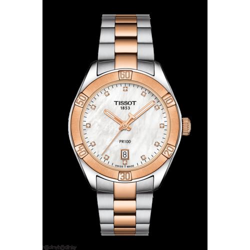 Dámske hodinky Tissot PR100 Sport Chic T101.910.22.116.00