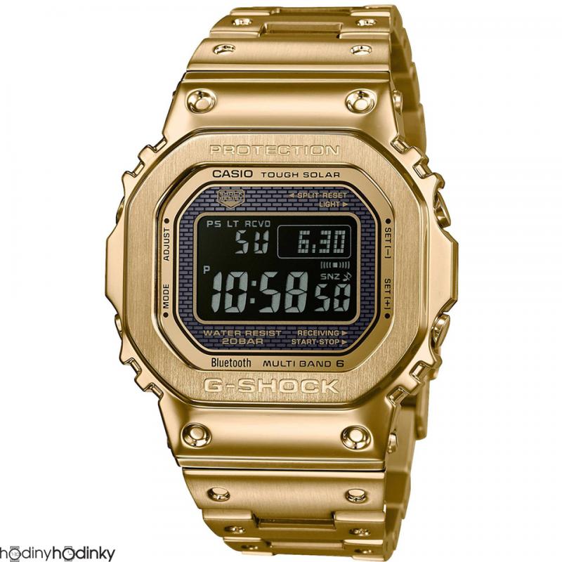 Pánske hodinky Casio G-Shock Bluetooth® Smart Solar GMW-B5000GD-9ER