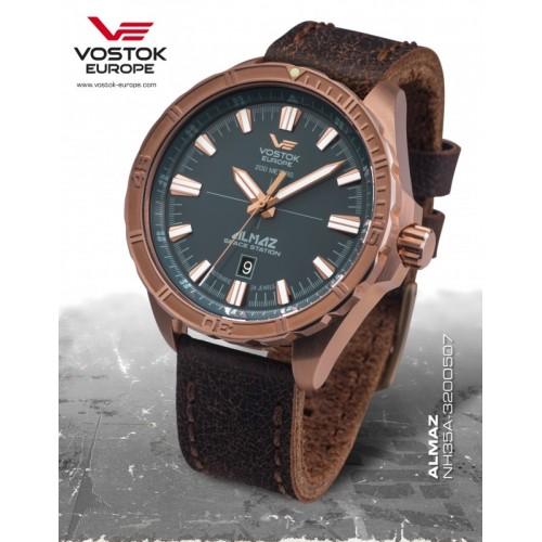 Pánske hodinky Vostok-Europe ALMAZ NH35A-320o507
