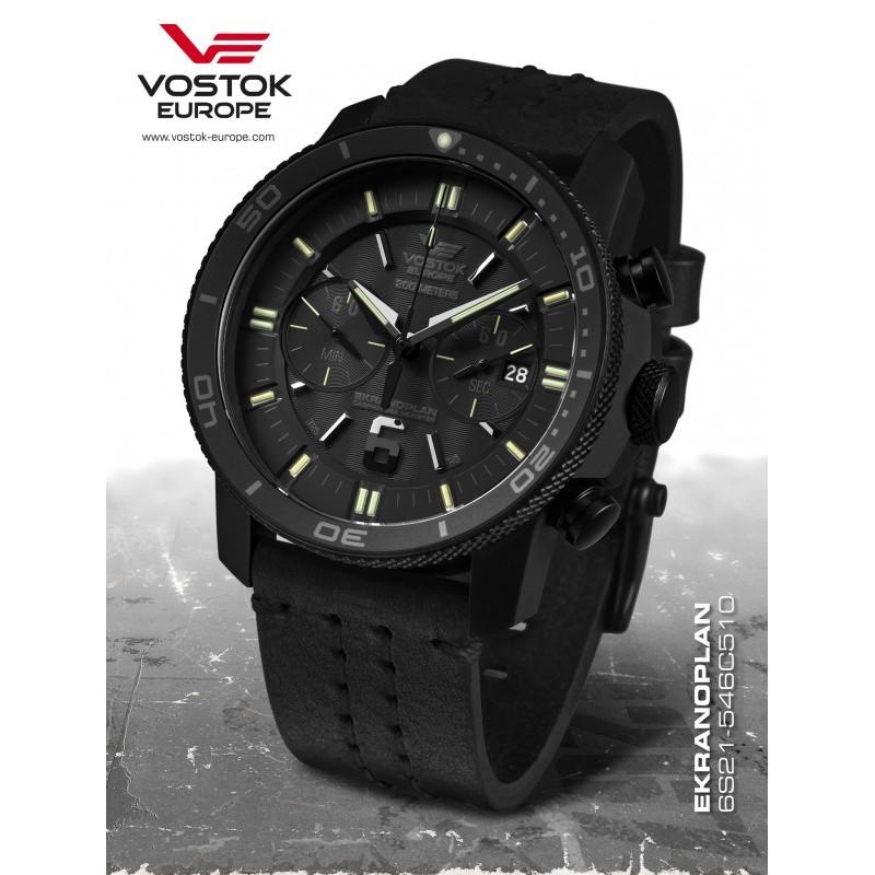 Pánske hodinky Vostok-Europe EKRANOPLAN 6S21/546C510