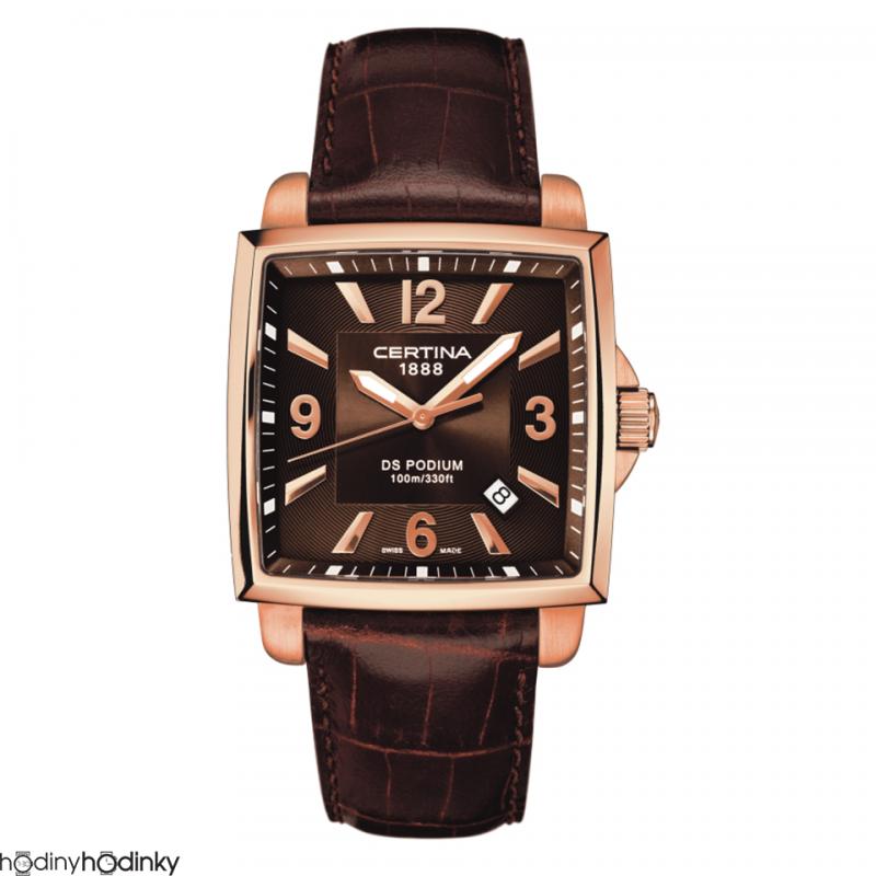 Pánske hodinky Certina DS Podium Square C001.510.36.297.00