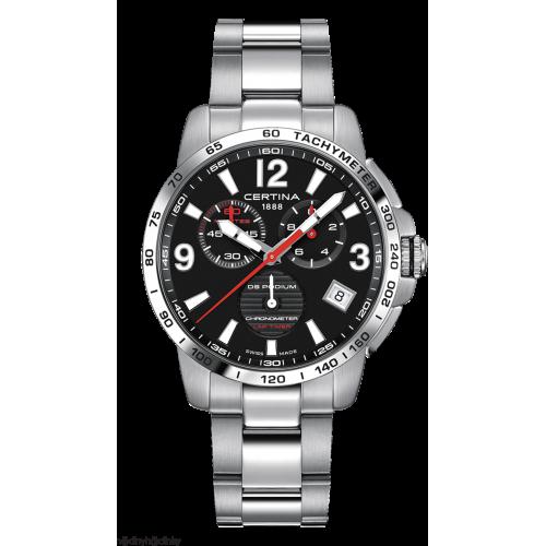 Pánske hodinky Certina DS Podium C034.453.11.057.00 Chronometer Lap timer