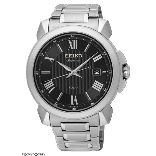 Pánske hodinky Seiko Premier SNE455P1 Solar