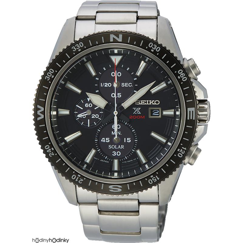 Pánske hodinky Seiko Solar SSC705P1 Chronograph