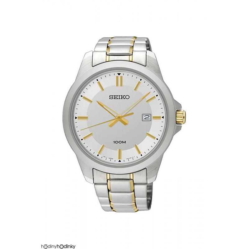 Dámske hodinky Seiko SUR247P1 Bicolor