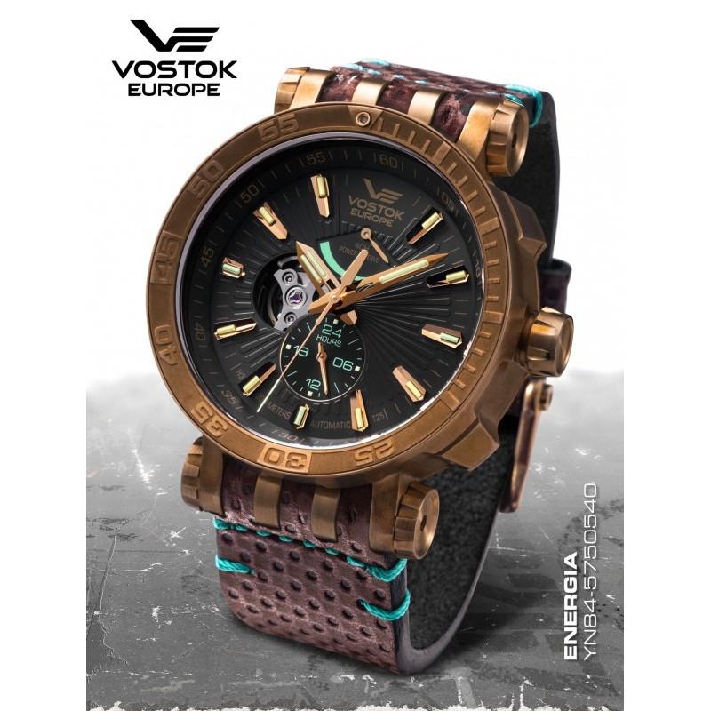 Pánske hodinky Vostok-Europe YN84/575O540 ENERGIA ROCKET BRONZ