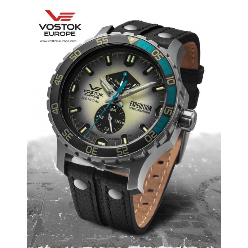 Pánske hodinky Vostok-Europe YN84/597A544 EXPEDITION EVEREST UNDERGROUND Automatic