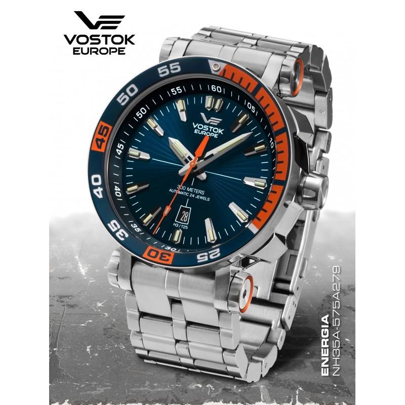 Pánske hodinky Vostok-Europe NH35/575A279B ENERGIA ROCKET Automatic