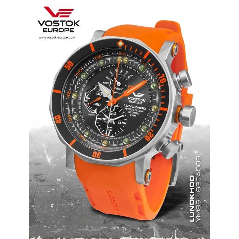 Pánske hodinky Vostok-Europe YM86/620A506 LUNOCHOD-2 Chronograph